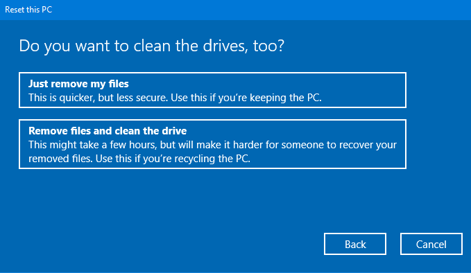How to clean your drives in Windows 10