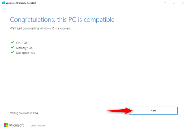 Assessing the compatibility of your Windows 10 PC