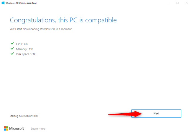 Assessing the compatibility of your Windows 10 PC with October 2020 Update