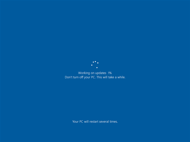 Finalizing the Windows 10 upgrade to October 2020 Update