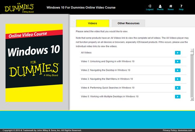Windows 10 At Work For Dummies, book