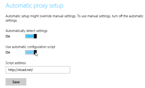 Proxy, server, set, configure, Windows 8.1, PC Settings