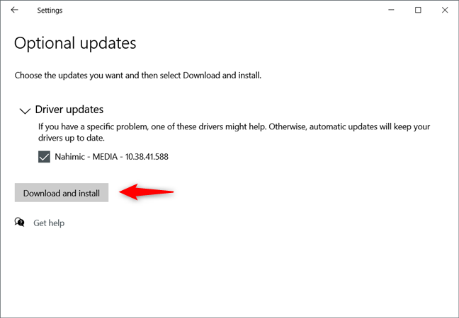 Windows 10 lets you choose when and what Optional Updates are installed