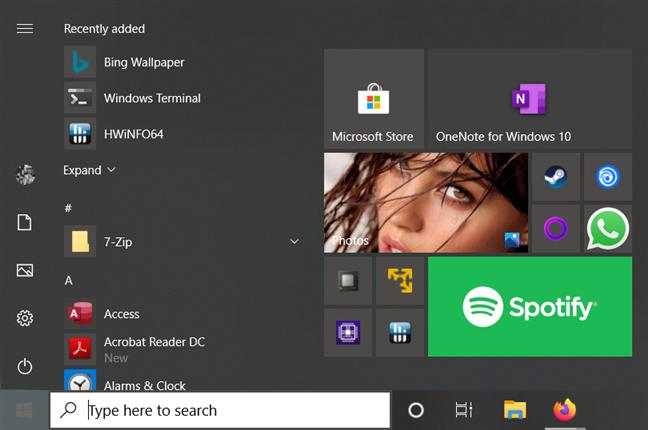 Best things about Windows 10: Start Menu