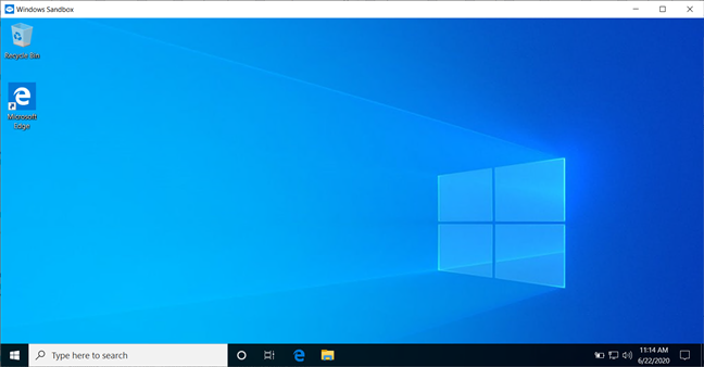 Best things about Windows 10: Windows Sandbox