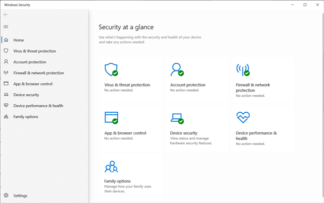 Best things about Windows 10: Windows Security