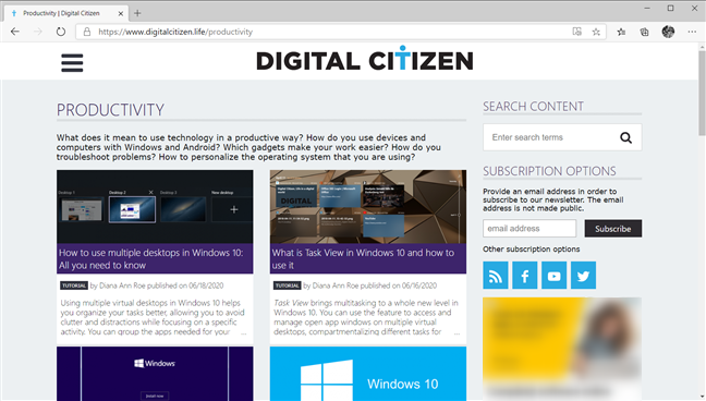 Best things about Windows 10: The new Microsoft Edge
