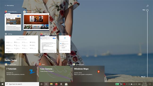 Best things about Windows 10: Task View, Timeline, virtual desktops