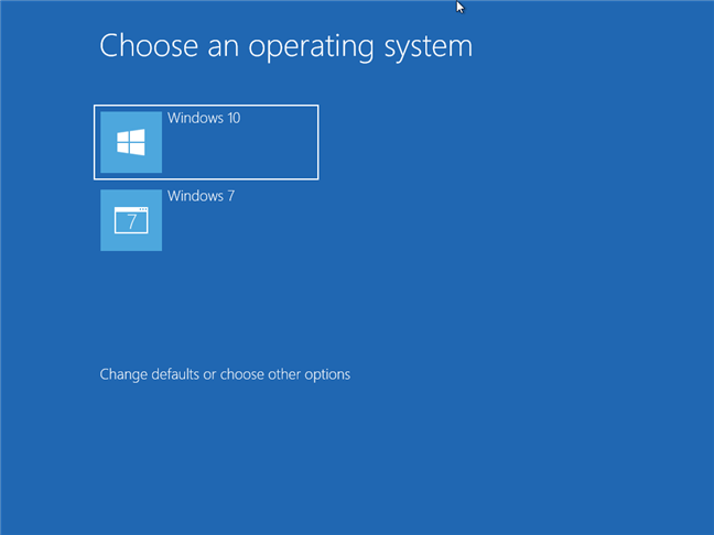 Windows 10 and Windows 7 in a dual-boot setup