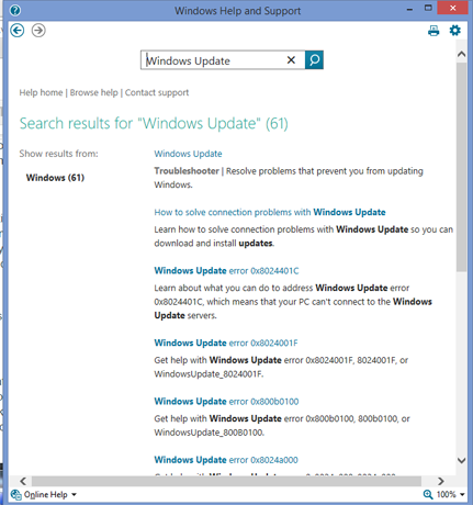 Windows, Help and Support, How to