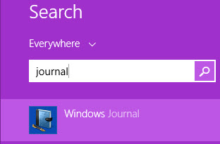 Windows Journal, how to use it, draw, take notes, Windows 8