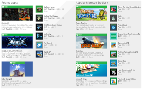 Windows 8.1, apps, games, Store, discover, install, review