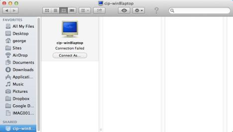 How to Access Windows 7 & Windows 8 Shared Folders from Mac OS X
