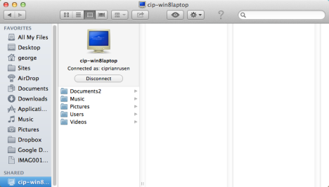How to Access Windows 7 & Windows 8 Shared Folders from Mac OS X