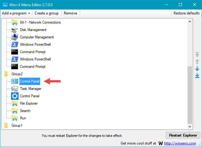 WinX, menu, Windows 10, shortcuts