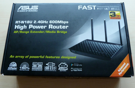 ASUS RT-N18U - a wireless router that uses the 802.11n standard