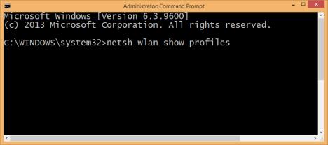 Windows 8.1, forget, wireless, network, profile