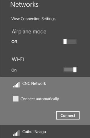 connect, wireless, network, Windows 8, Windows 8.1