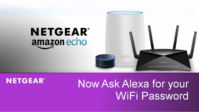 Some Netgear routers have Amazon Alexa Skills
