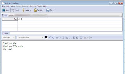 Windows Journal, templates, journal, email, Windows 7, Windows 8