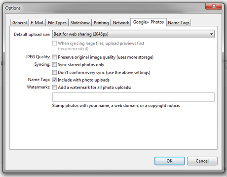 Windows Photo Gallery - Publish Photos to Picasa and Google+
