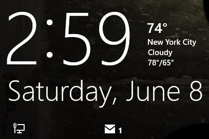 Windows 8, Lock Screen, Start screen, wallpaper, customization, notifications