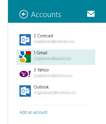 Windows 8 - How to Configure Mail App Accounts
