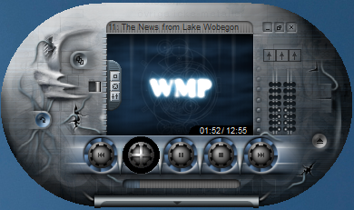 Windows Media Player 12 Skin