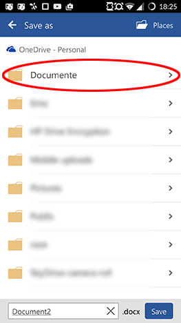 Android, Microsoft, Office, Word, document, create, edit, save