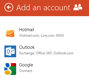 Windows 8 - Add Accounts to the People App