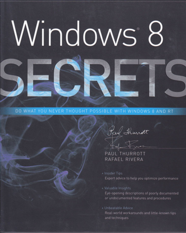 Book Review - Windows 8 Secrets