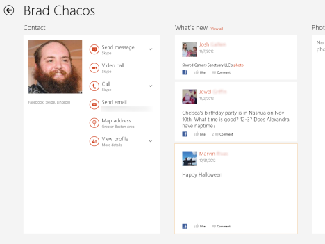 Windows 8 - Use the People App to Manage Your Social Networking Accounts