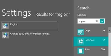 How to Change the Region for the Windows 8 Store & Windows 8 Apps