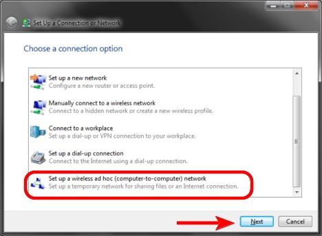 Wireless Ad Hoc Network