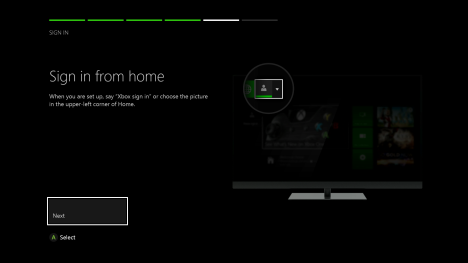 xbox one, first time, setup, kinect, calibration