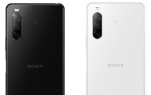 Sony Xperia 10 II: Black and white color variations