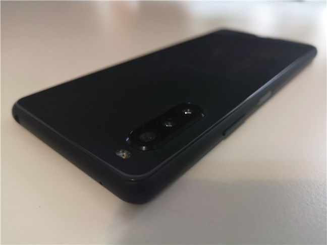 The triple-camera system on the Sony Xperia 10 II