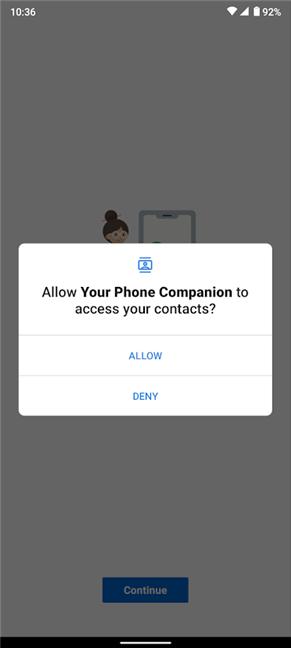 La aplicación necesita permisos para realizar las mismas tareas que tu Android