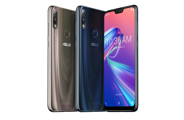 Color variations available for the ASUS ZenFone Max Pro (M2)