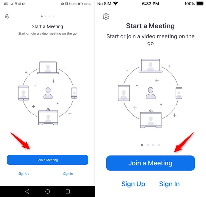 Join a Meeting in Zoom for Android and iPhone