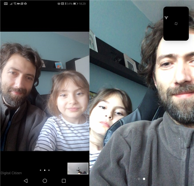 A Zoom meeting on an Android smartphone and an iPhone