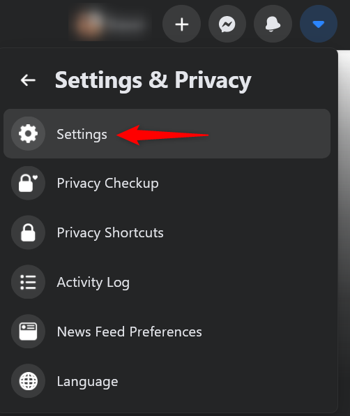Access Settings to see all the devices connected to your Facebook