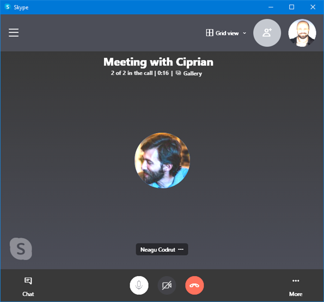 Joining a Skype meeting