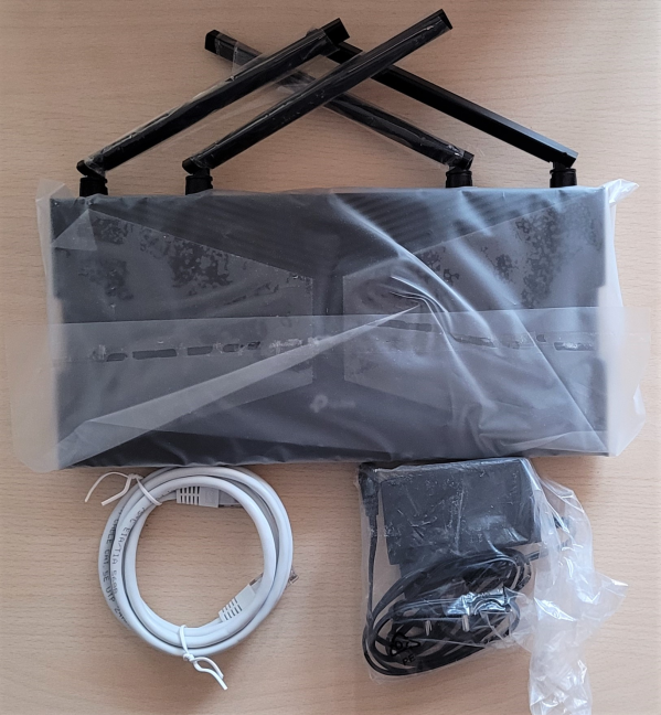 TP-Link Archer AX20 - What you find inside the box