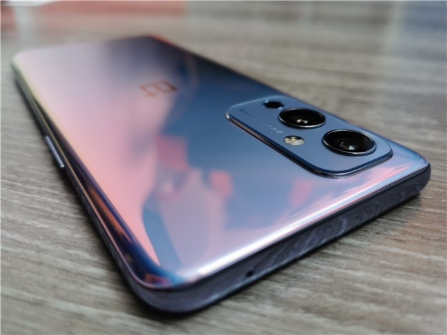 The triple-camera system on the OnePlus 9