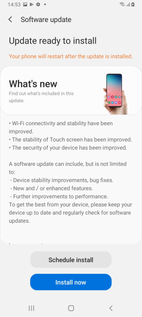 Android updates are available up to four years
