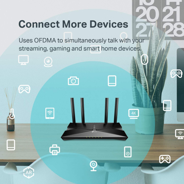 TP-Link Wi-Fi 6 routers can handle more devices than previous generations