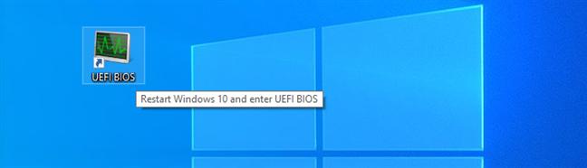 Download a shortcut to UEFI BIOS