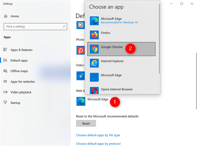 How to make Google Chrome the default browser