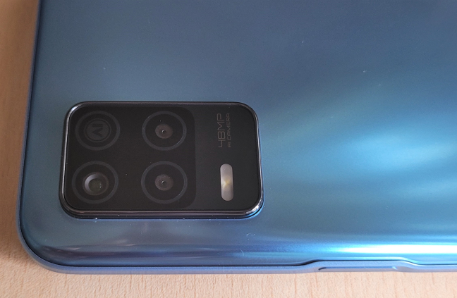 The camera system on the realme 8 5G